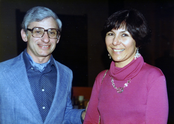 Dan and Gerrie Aaron, 1977