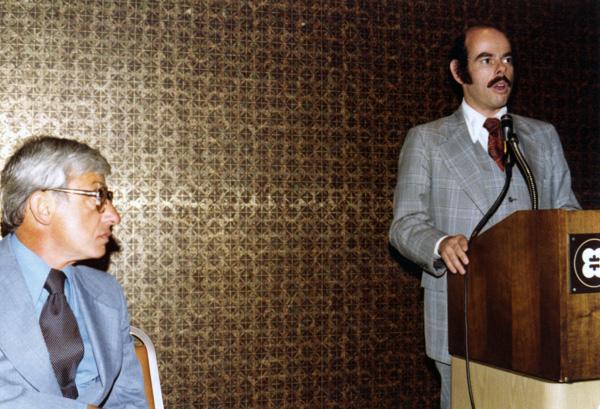 Daniel Aaron and Henry Waxman, 1977