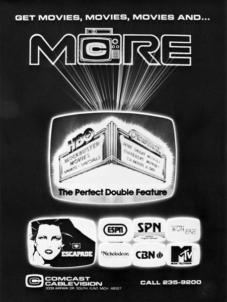 Comcast ad, 1980s