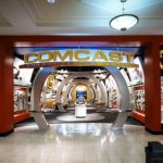 Comcast store entrance, King of Prussia Mall, Pennsylvania, 2006