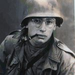 Dan Aaron serving in the Army during World War II