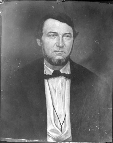 William Menger Painted Portrait, n.d.