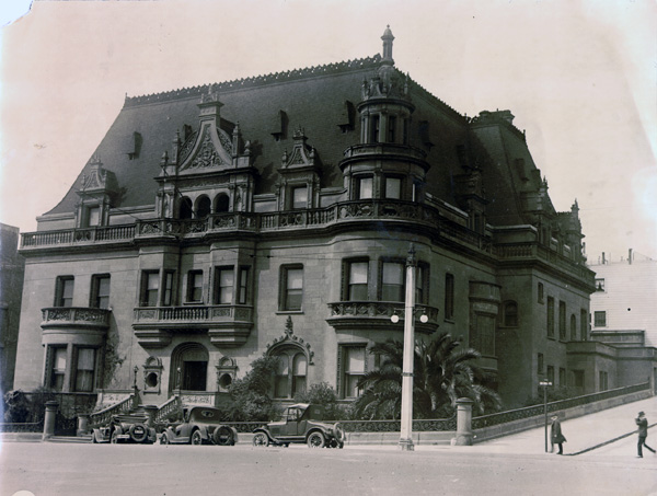 Claus Spreckels Mansion, San Francisco, n.d.