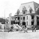 Spreckels' one million dollar mansion, San Francisco, after the great 1906 fire