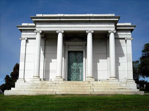 Spreckels Family Grave, Cypress Lawn Memorial Park, Colma, CA, 2006