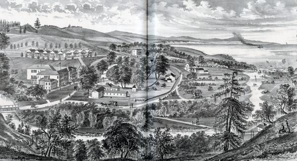 Claus Spreckels' Aptos Ranch and hotel, 1879