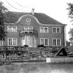 Jeidels villa, Wannsee, rear view