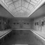 Swimming house at the Jeidels villa, Wannsee