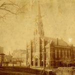 St. Matthew's German Lutheran Church, 8th & Hudson Sts., Hoboken, NJ, ca. 1877
