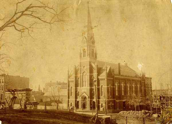 St. Matthew's German Lutheran Church, 8th & Hudson Sts., Hoboken, NJ, ca. 1877
