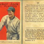 Cracker Jack baseball card, 1914