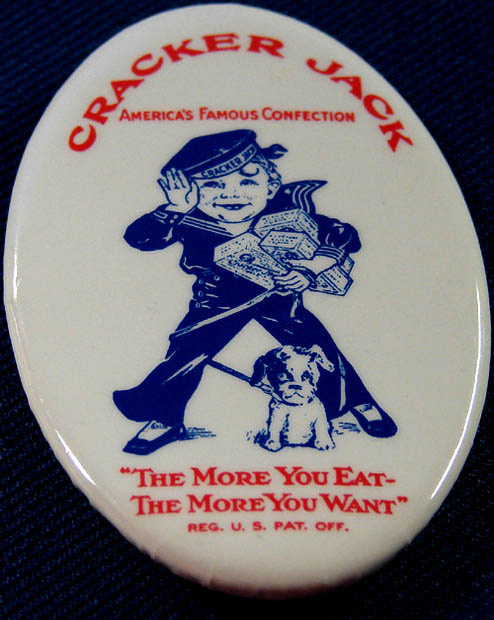 Badge showing an early depiction of Sailor Jack