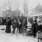 Popcorn wagon, Denver, ca. 1895