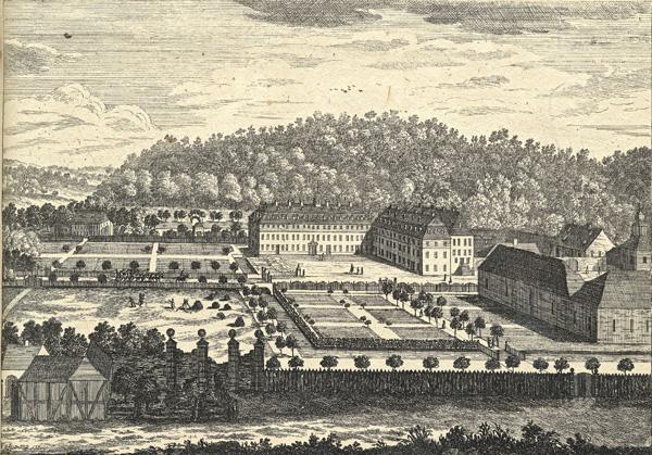 Marienborn in the Wetterau, 1755